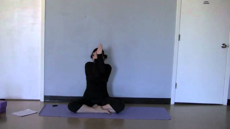 Great For The shoulders & Upper Back Garudasasa Arms~ Eagle arms