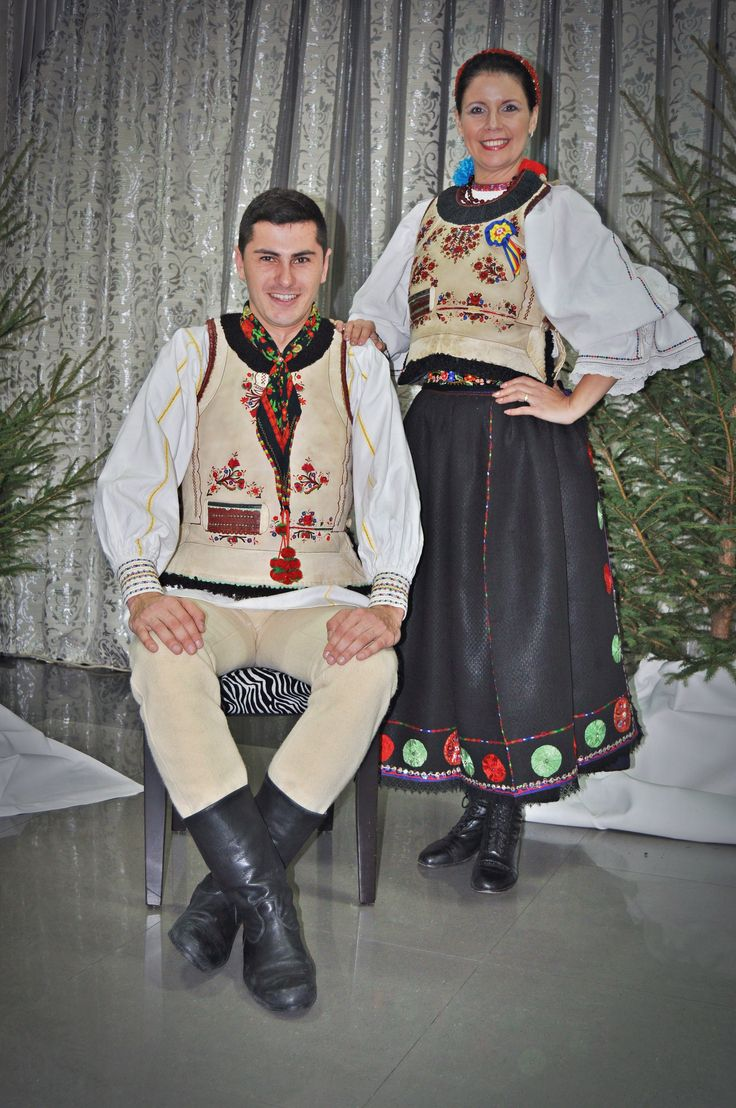 Romanian dress from Mateias village, Brasov area