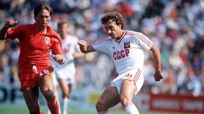 1986 FIFA World Cup Mexico, Belgium - USSR