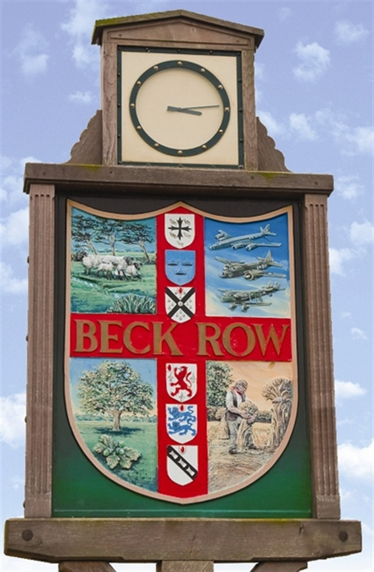 "We lived in Beck Row (just off base) ""on the economy"" for the 1st year we lived in England."