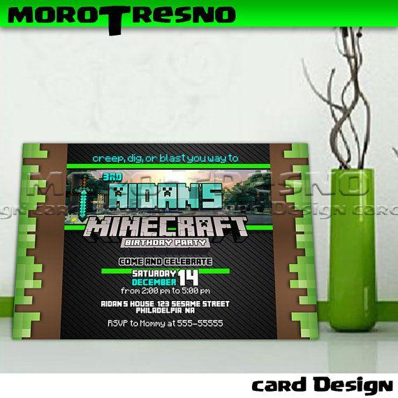 M Birthday Invitation 5 copy - Invitation Card
