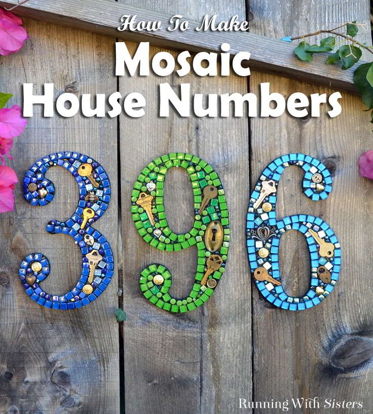 1000+ Ideas About House Numbers On Pinterest