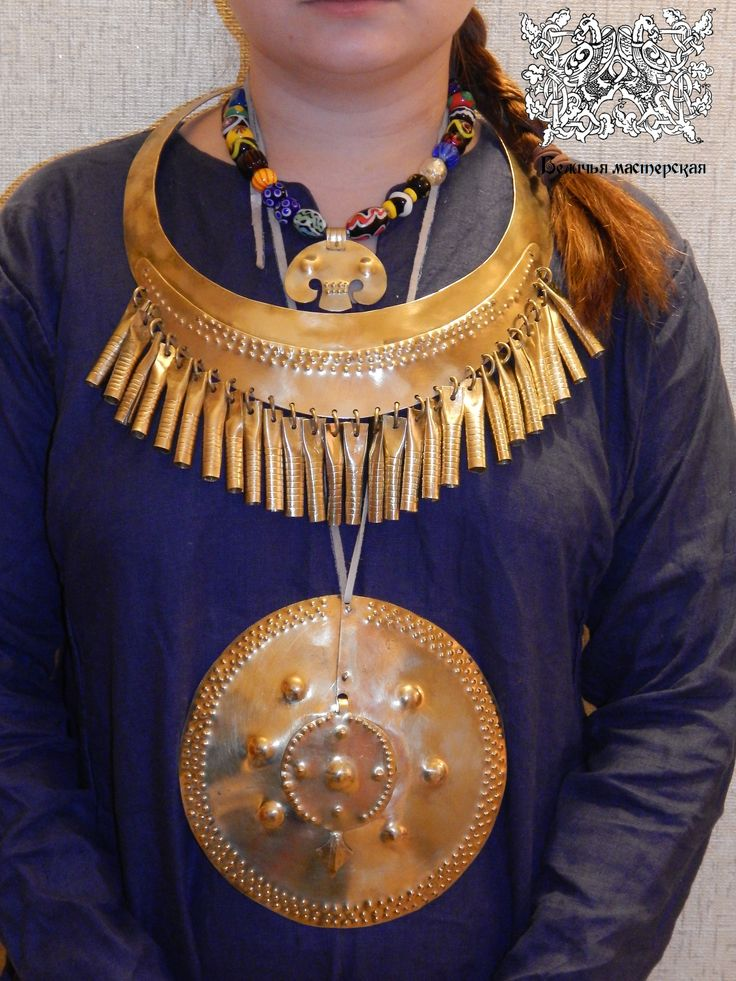 Jewelry breed of Muroma. Ivanovo disrict. 8-10th A.D.