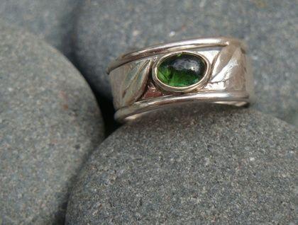 Tourmaline Stack Ring