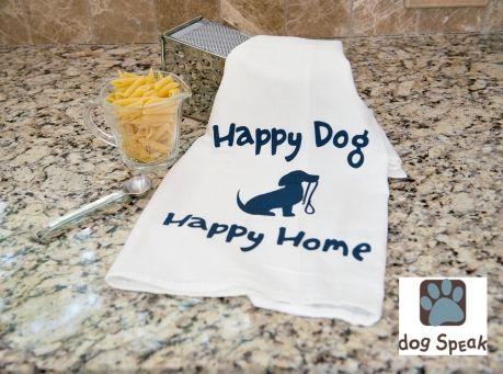 Image of Pet Saying Cotton Kitchen Towels