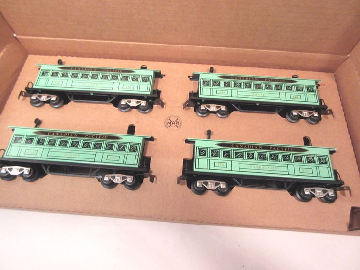 MARX TRAINS 5192X GREEN CAN PACIFIC CARS O-GAUGE #X8088