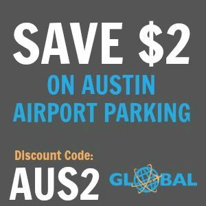 AUS Austin Airport Parking Coupon