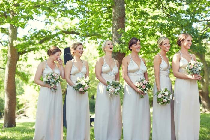 Anna Campbell #bridesmaid dresses // Featured in A Romantic Whimsical Wedding at Anderson's Mill with Photography by 35mm Wedding Photography