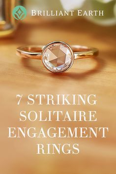 Although all solitaire ring designs feature a similar theme—a band of precious metal showcasing a single center gemstone—there are many unique designs to choose from. From vintage inspired to contemporary, our collection ofsolitaire engagement ringsfeatures an array of stunning choices. Learn about 7 of our favorite distinctive solitaire settings, guaranteed to stand out from the crowd!