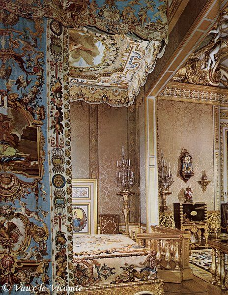 Bedroom Of Ch Teau De Vaux Le Vicomte 1658 To 1661
