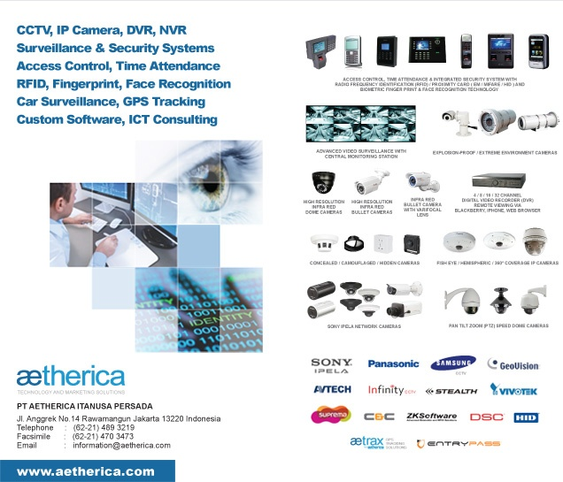 Cctv Aetherica Jakarta Pt Aetherica It A Persada Provides A Wide Range Of Technology Security Solutions Including Cctv Ip Camera Video