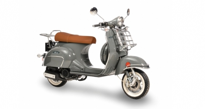 neco abruzzi 50 ccm and 125 ccm retro scooter in very trendy colors also available in two tone. Black Bedroom Furniture Sets. Home Design Ideas
