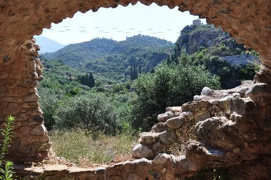 Ruins and Greek nature