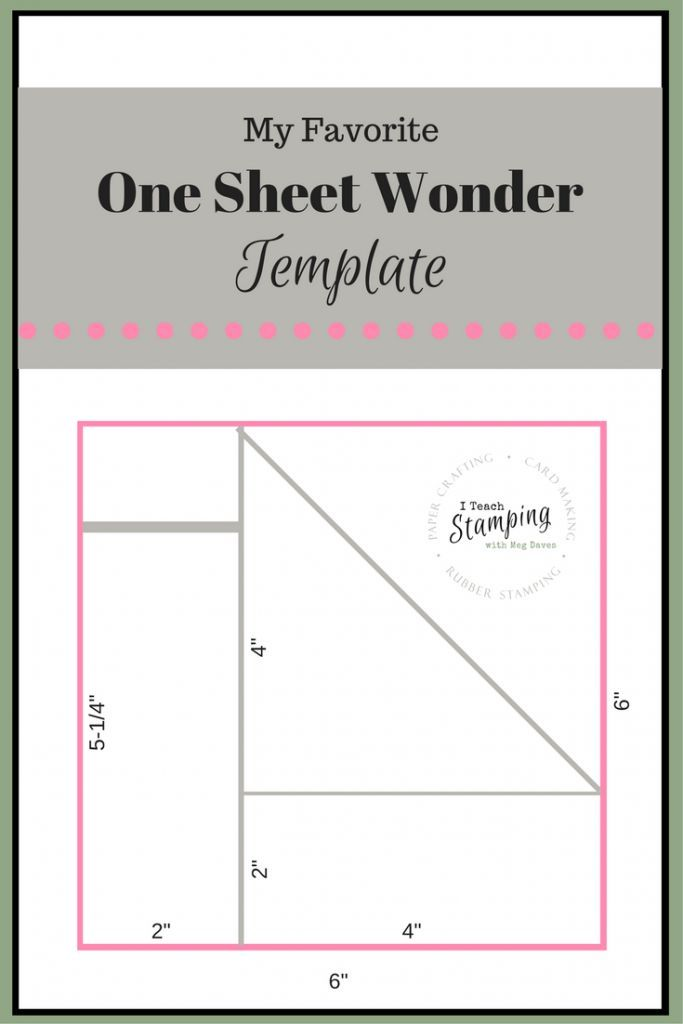 26 Best One Sheet Wonder Cards Images On Pinterest One One Sheet Wonder Card Making Templates Card Sketches Templates