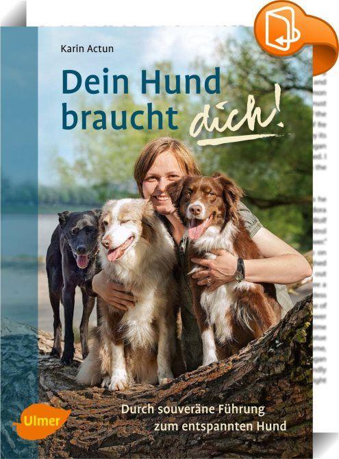 Dein Hund braucht dich!    ::  <span>Probleme mit der Hundeerziehung? Karin Actun erklärt in ihrem Buch, warum Hunde eine respektvolle, souveräne Führung brauchen, wie wir sie ihnen geben können und wie das die Mensch-Hund-Beziehung verändern kann. Sie beschreibt, wie Hunde ihr Zusammenleben regeln und was das für uns bedeutet. Dabei geht es ihr nicht um Trainingstipps, sondern darum, zu zeigen, wie man an seiner eigenen Persönlichkeit arbeiten kann, um dem Hund das zu geben, was er br...