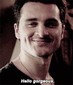 Enzo/Michael Malarkey from The Vampire Diaries