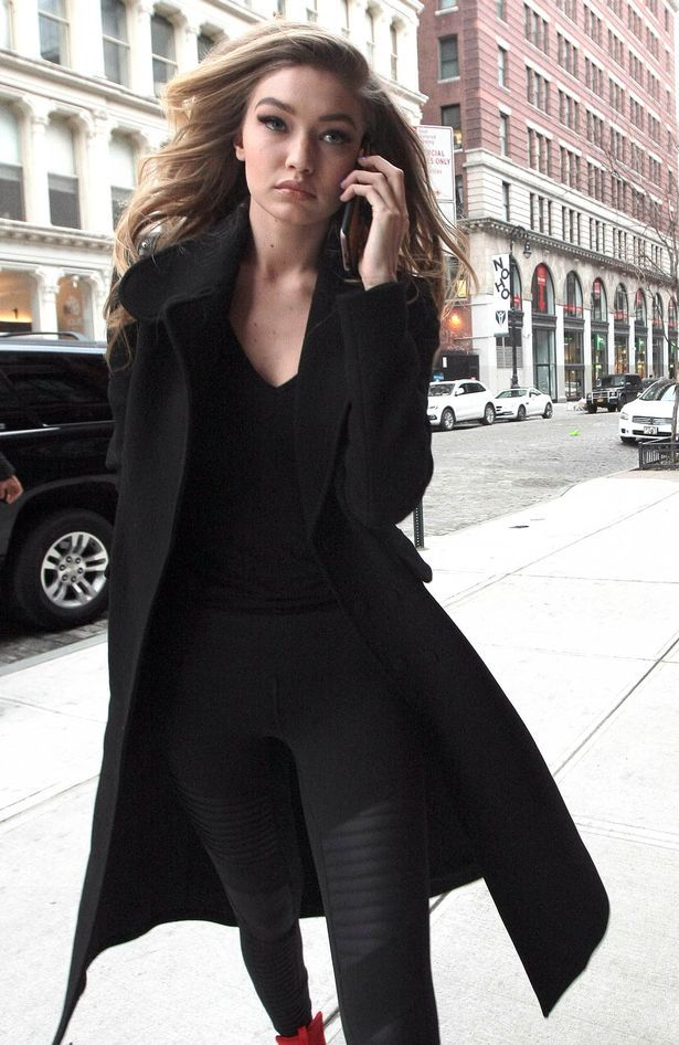 Gigi Hadid seen out and about in New York City