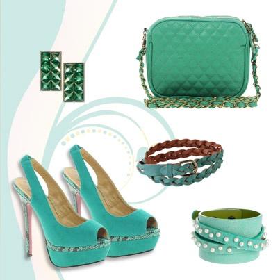Verde que te quiero verde, color de temporada por @Nuria Basalo Álvarez