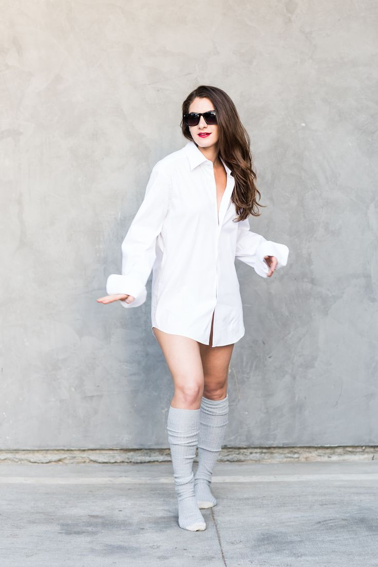 11 Halloween Costumes for Girls Who Are Lazy AF | http://www.hercampus.com/style/11-halloween-costumes-girls-who-are-lazy-af | Easy Risky Business Costume