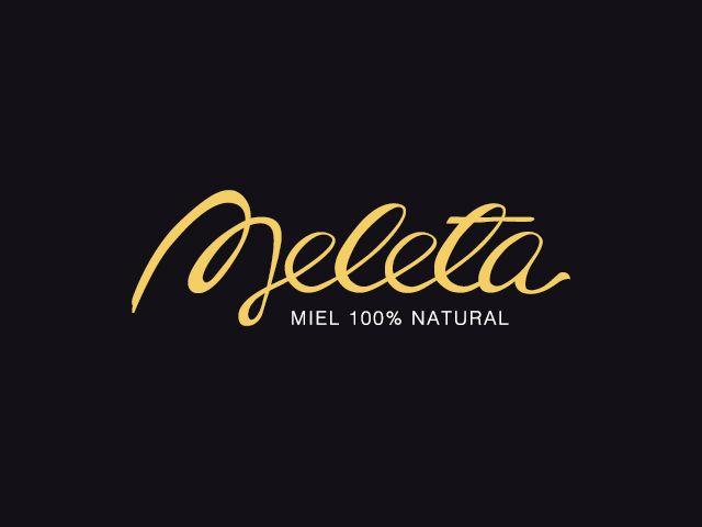 Diseño de logotipo miel 100% natural