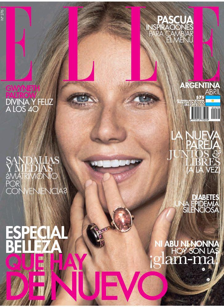 ELLE Argentina April 2017: Gwyneth Paltrow by Xavi Gordo