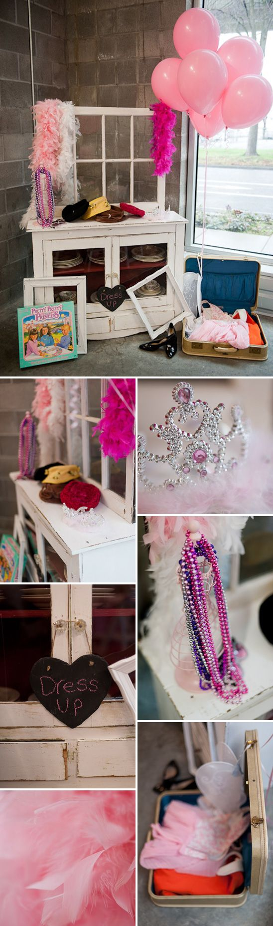 PERFECTLY PINK TEA PARTY: The Photobooth