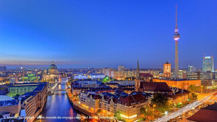 Billet d'avion pas cher pour Berlin en Allemagne, réserver un vol aller retour…