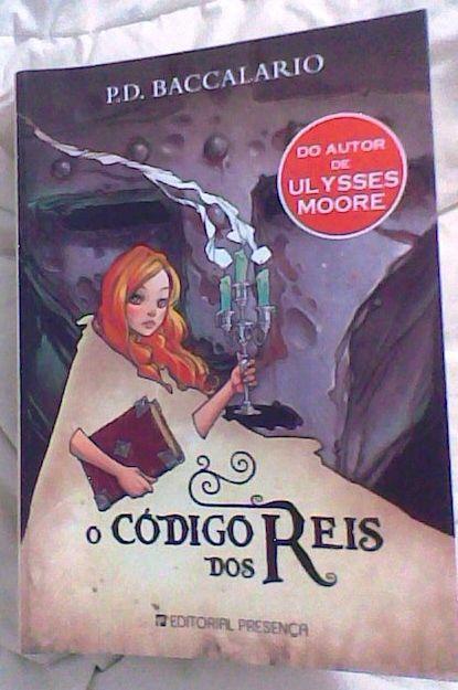 O código dos reis - capa do livro