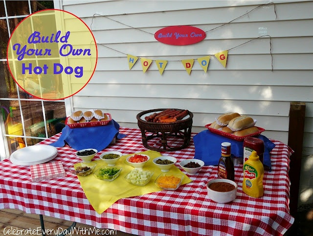 A Deluxe Hot Dog Bar