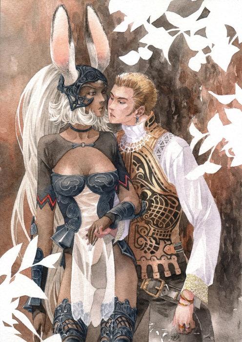 Final Fantasy 12. Fran and Balthier