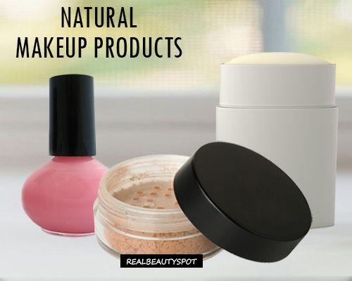 DIY natural makeup products using cornstarch