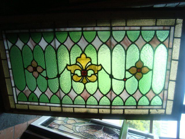 Antique Stained Glass Windows & Doors for Sale in Pennsylvania | Oley Valley Architectural Antiques Ltd.