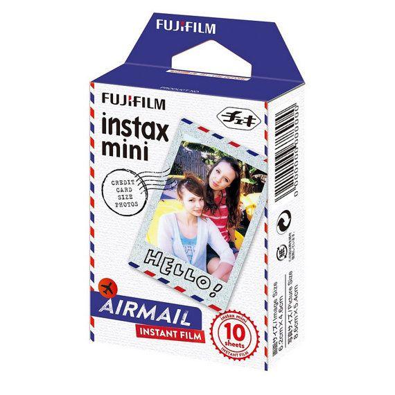 FujiFilm Instax Mini Picture Format Airmail Fuji Instant Film