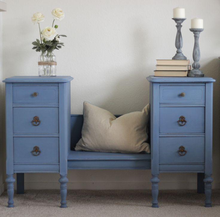 Antique Vanity Rescue. Nicole CurtisAntique VanityFurniture ProjectsDiy  FurnitureHouse FurnitureMartha Stewart Chalk PaintAntique ...