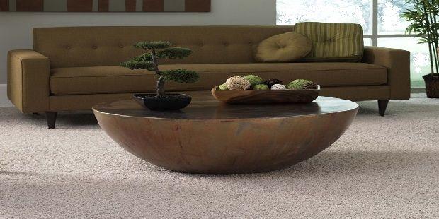 Copper Half Eclipse Coffee Table
