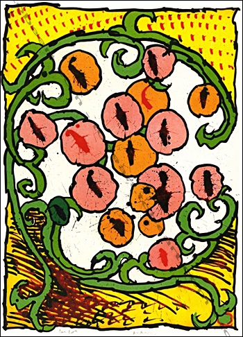 Pierre Alechinsky - Labyrinthes d'apparat, 1973