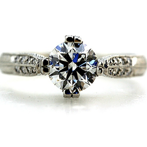 Cool Engagement Ring #ring