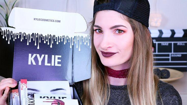 Unboxing & Πρώτες εντυπώσεις Kylie Cosmetics | Eleonora - YouTube