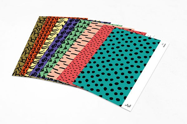 Zirriborro // Pattern Collection on Behance