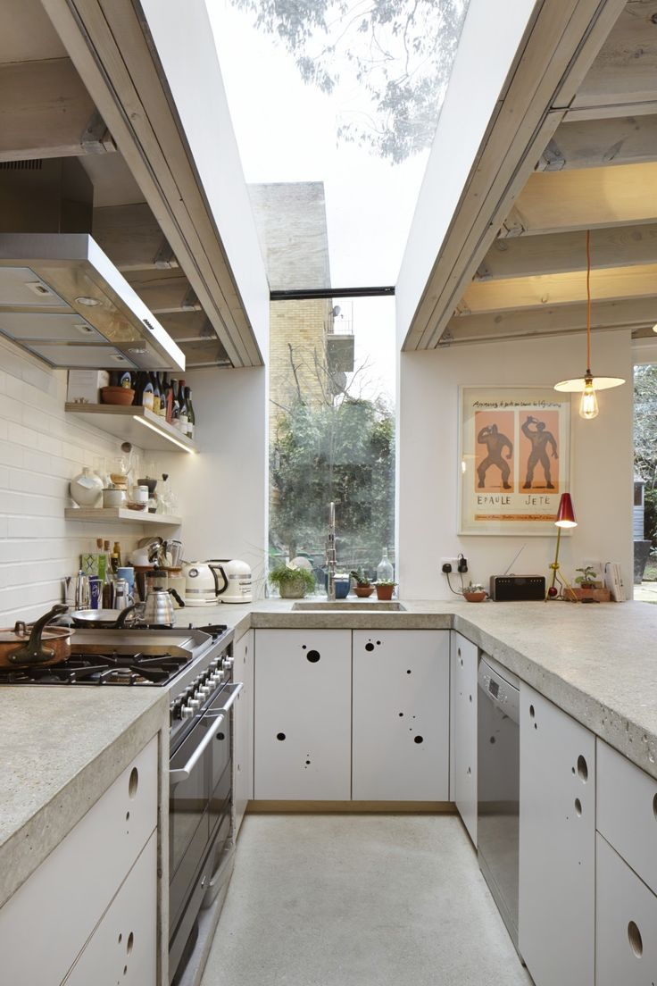 kitchen design for cooks. Cooks Kitchen  concrete counters open shelving skylight extension design by Fraher Architects 288 best Kitchens Are for Cooking images on Pinterest