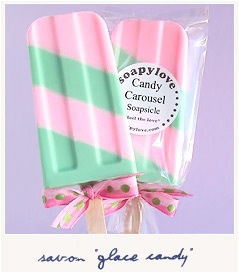 great idea for soap - for kids and adults.
