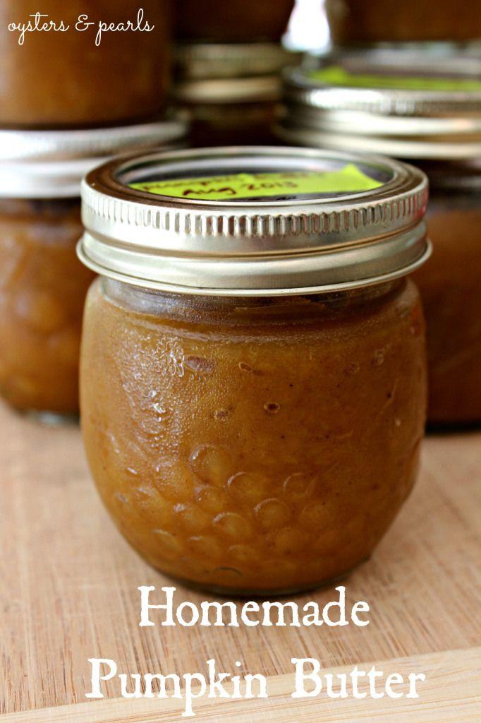Homemade Pumpkin Butter: Homemade Pumpkin, Oysters, Sugar Pumpkins ...