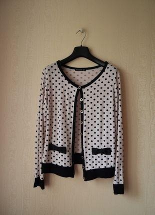 Kup mój przedmiot na #vintedpl http://www.vinted.pl/damska-odziez/swetry-z-dzianiny/13279649-sweterek-w-kropki-firmy-atmosphere