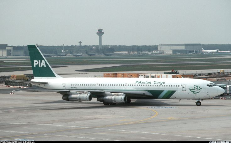 Boeing 707-340C - Pakistan International Airlines Cargo - PIA   Aviation Photo #0435656   Airliners.net