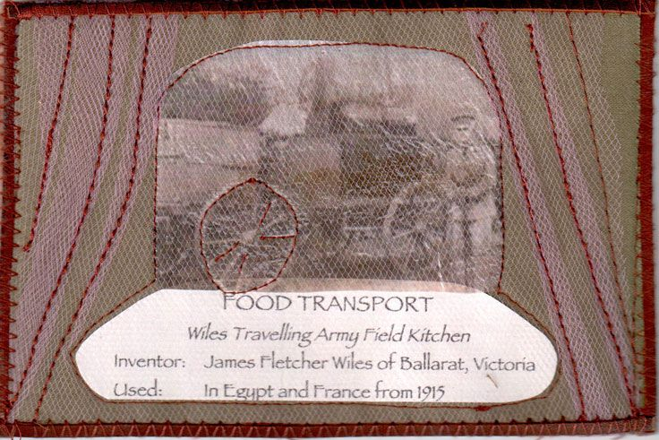 Food Transport, Wiles Travelling Army Field Kitchen by Carolyn Paulin
