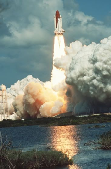 Space Shuttle Launch. One of the most amazing things I have seen and experienced. Beautiful. KC