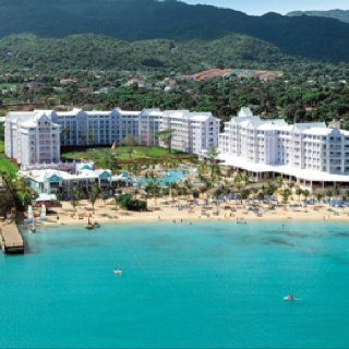 Riu Ocho Rios, Jamaica... Can't wait to be here in May for our honeymoon!!!! :) <3