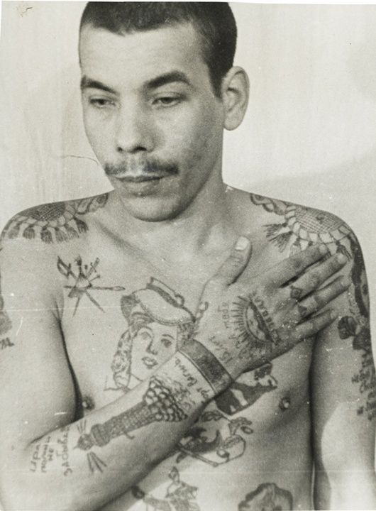 Decoding russian criminal tattoos in pictures in for Prison tattoo pictures