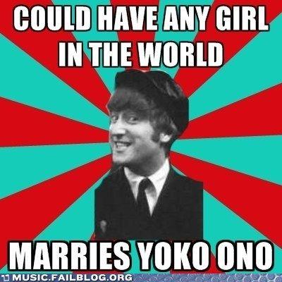 the beatles memes | tags john lennon meme the beatles yoko ono by jmjmad1