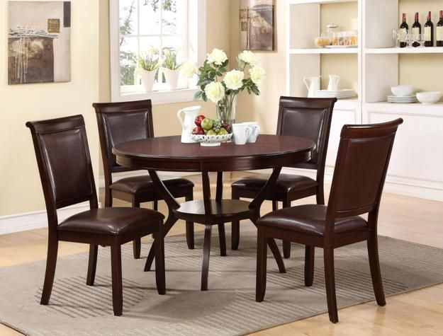 Crown Mark 2519 5 Pc Dinette By Get Your At Railway Freight Furniture Albany GA Store